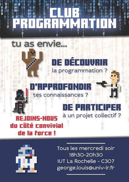 Affiche club programmation