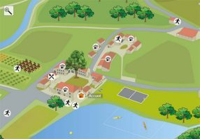 carte interactive le chambon