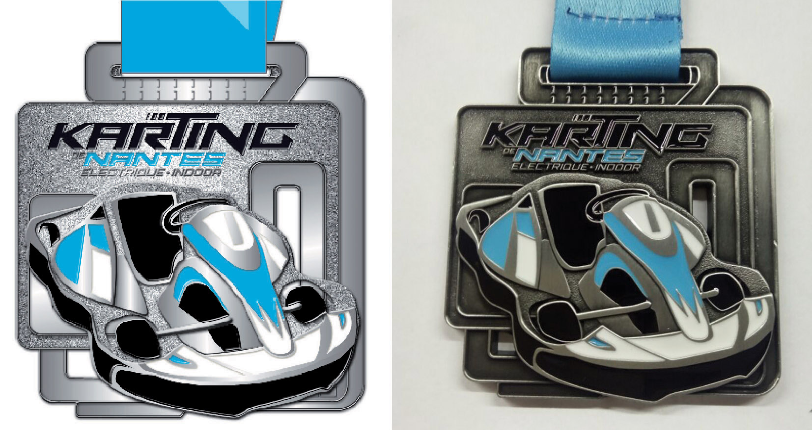 Médaille Karting de Nantes