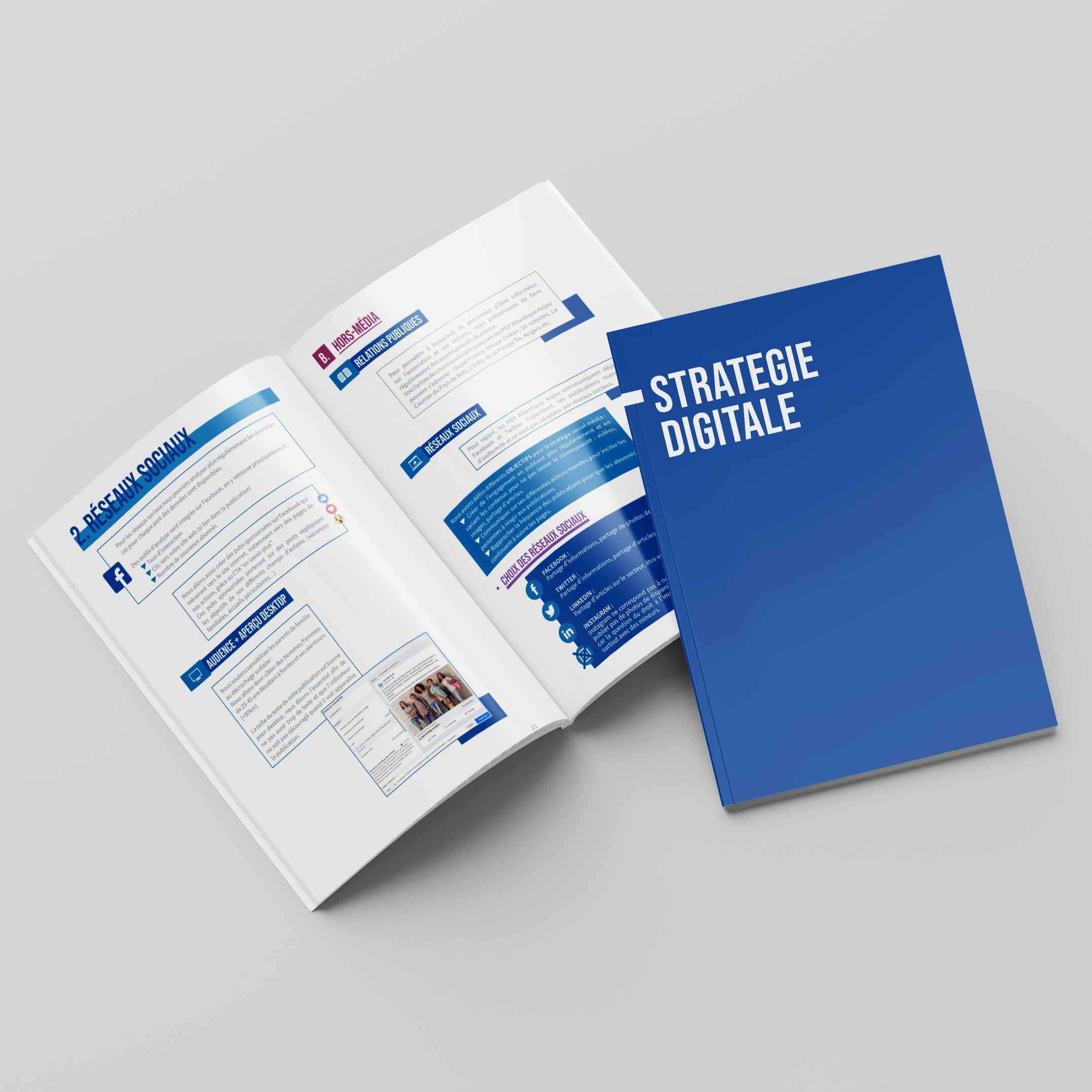 Brochure Stratégie Digitale